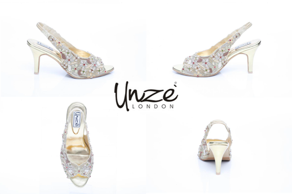Wedding shoes by Unze